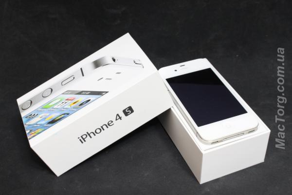 Iphone 4S 16Gb white. Хмельницкий