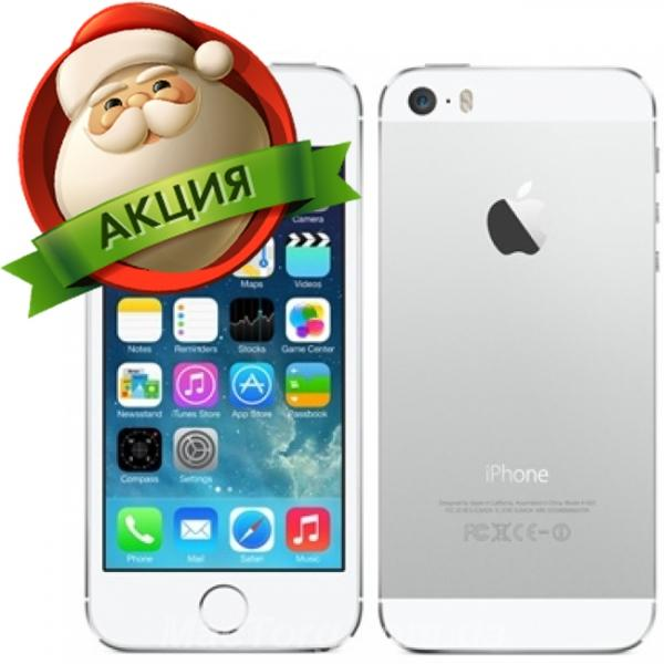 Apple iPhone 5S 64Gb Neverlock Silver. Киев
