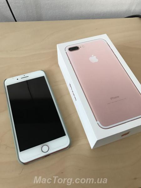 iPhone 7 Plus 128gb Rose Gold neverlock. Киев