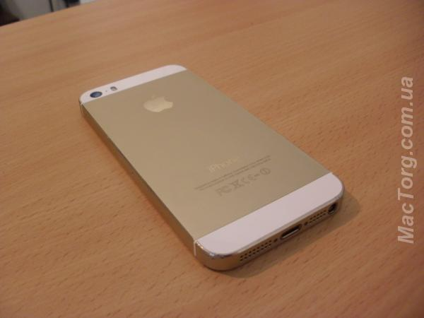 Продам iphone 5s gold залоченый, под R-sim. Одесса