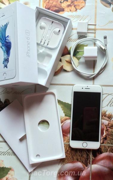 Продам iPhone 6s 64gb Silver Neverlock.. Харьков