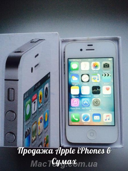Продам iPhone 4s 16gb neverlock. Сумы