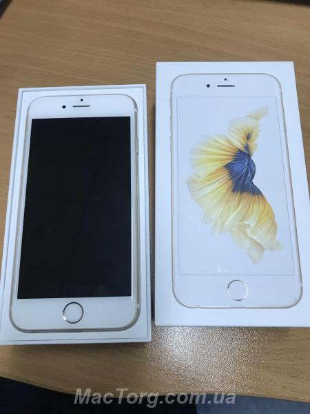 Iphone 6S 64GB Gold Neverlock. Киев
