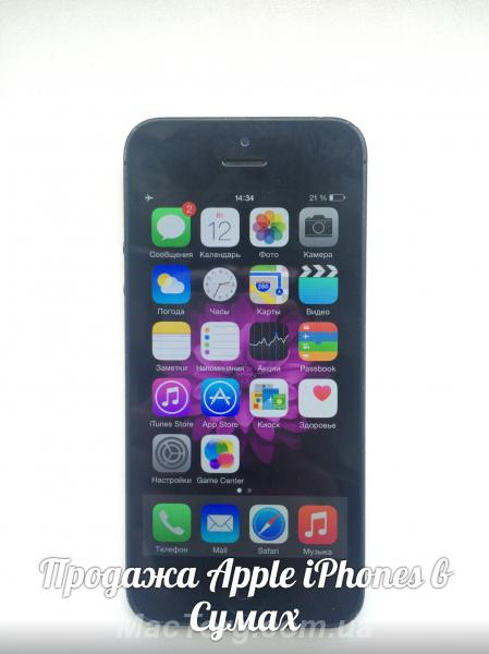 Продам iPhone 5 16gb neverlock. Сумы