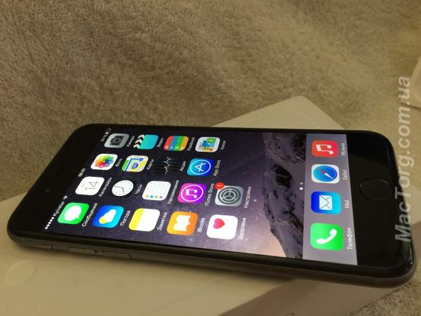 iPhone 6 Space Gray 16 Gb neverlock. Ивано-Франковск