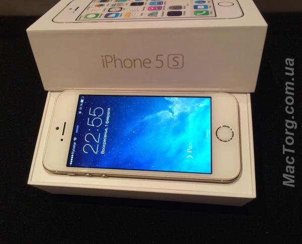 Продам iPhone 5s Neverlock Gold 16 Gb. Киев