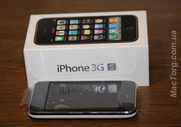 Продам НОВЫЙ Apple iPhone 3GS 16GB Factory unlocked, sealed box. Киев