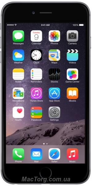 Apple iPhone 6 Plus 16GB Space Gray Новые. Киев